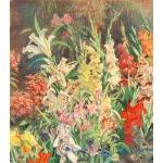 The Artist's Garden by Julius Moessel, 1943 Preview