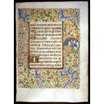 IM-1473 - Book of Hours Leaf - Coetivy Master Workshop Preview