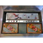 Rare Bridge Box WMF Art Deco Silver plate, Germany C.1920. Preview