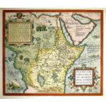 M-12239 - c. 1588 Map of the Legendary Kingdom of Prester John - Oretlius Preview