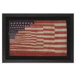 48 STAR PARADE FLAG SALESMAN'S SAMPLE, CA 1912-1930: Preview