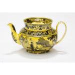 Yellow Creil Teapot Preview
