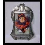 WMF Art Nouveau Jugendstil pewter photograph frame, WMF C.1906 Preview