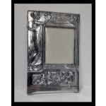 Pair Art Nouveau large Silver Plate Photograph Frames, Germany C.1900. Preview