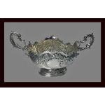 Fine Antique Victorian English Silver Centrepiece, London 1900, Barnard Preview