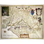 M-12903 - ''Nova Virginia Tabula'' - c. 1642 Chesapeake Bay - Blaeu Preview