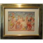 Sur la Plage (On the Beach) by Odilon Roche (1868-1947) Preview