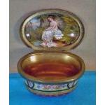 Fine 19th cent Viennese ormolu enamel box, C.1875.  Preview