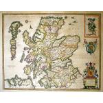 M-12981 - ''Scotia Regnvm'' The Kingdom of Scotland, c. 1635-54 - Blaeu Preview