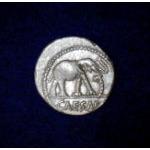 Ancient Roman Silver Coin - Julius Caesar c 49 BC Preview