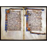 IM-11325: Medieval continuous bifolium Psalter Leaves, c. 1200-25 Preview