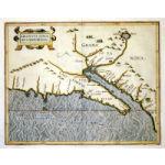 "M-790 - ""Granata Nova et California"" c 1597 - Wytfliet Preview"