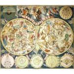 "M-13607 - ""Planisphaerium Coeleste..."" c 1730 Seutter Map of the Heavens Preview"