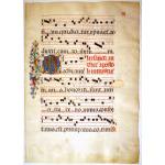 IM-3697 - Medieval Gregorian Chant - Seville c. 1460-90 Preview