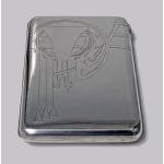 Russian Silver cigarette case, 1908-1926, Feodosii Ivanovich Pekin, Moscow Preview