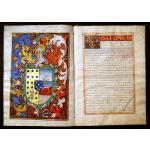 IM-4470: Rare Hispano Mexican Heraldic & Legal Manuscript Preview